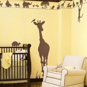 Ideas Designs Cool Jungle Kids BedRoom paint the walls