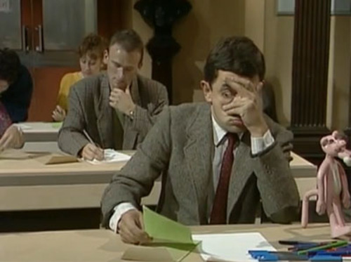 mr-bean-exam