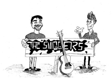 the sniggers